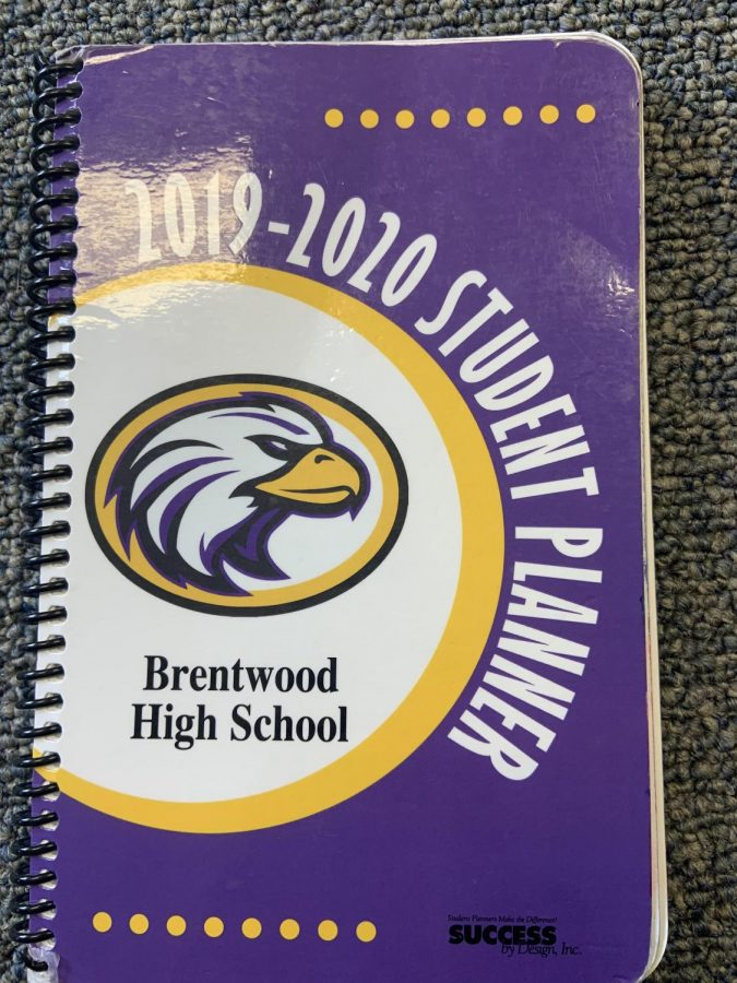 The Brentwood High student handbook includes all of the rules and regulations