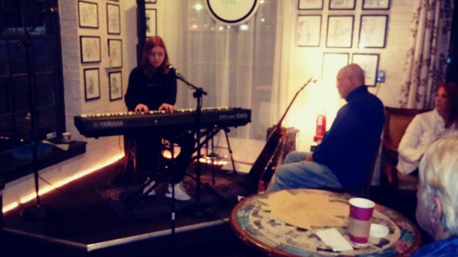 Kate at Webster Groves Garden Cafe.