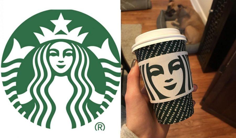 The Starbucks Caramel Macchiato in size tall