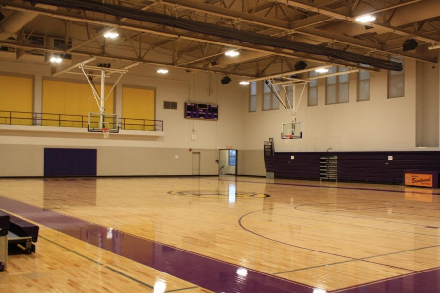 The gym is completely done and looks amazing! Check it out!