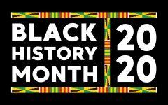 Black History Month 2020 photo on the University of Iowa website.