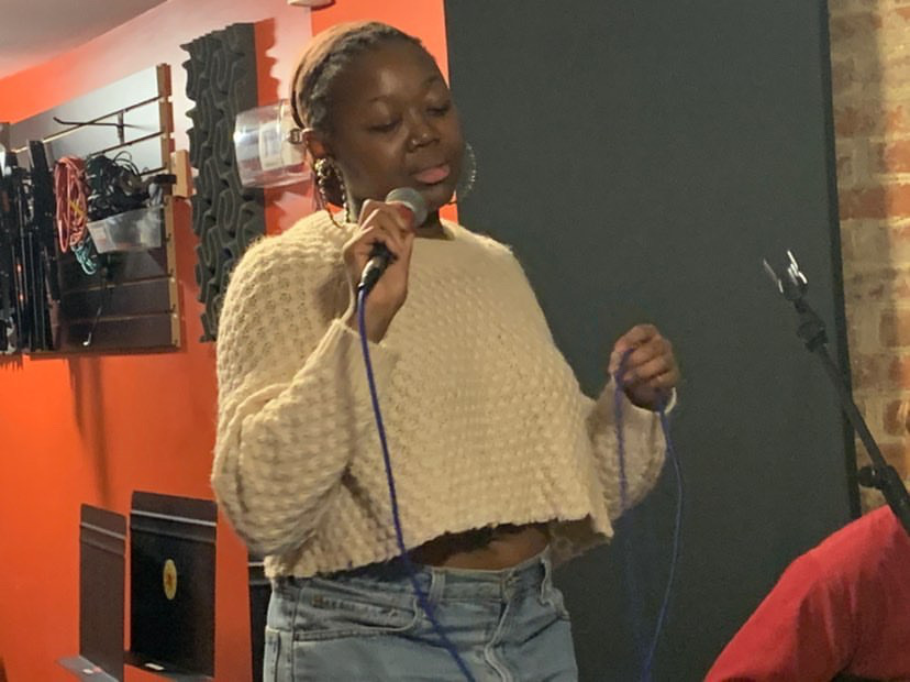 Brentwood alumni Ruqqiyah Muhammad is pursuing her passion of music.