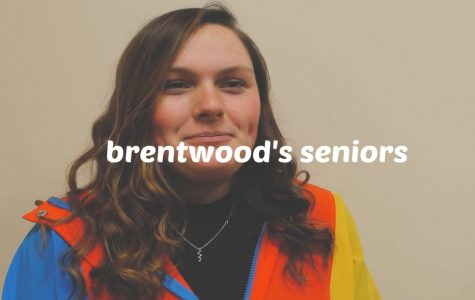 Senior Caroline Buckley is one of the six featured Brentwood seniors.