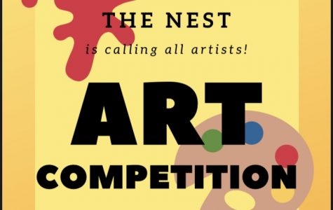 The Nest is hosting their first online art competition! Read more to get involved!