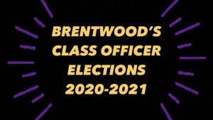 Class officer election updates