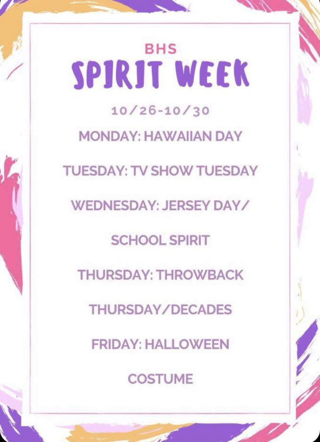 Stuco encourages all students to participate in spirit week.