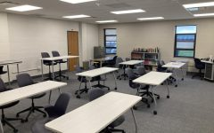 A new classroom in the English department