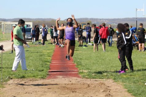 Placing first in the triple jump at districts and then within the top four at sectionals, Mya Lucas has made qualifying for state look quite literally as easy as a hop, skip, and a jump.